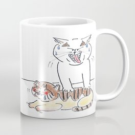 massage cat Coffee Mug