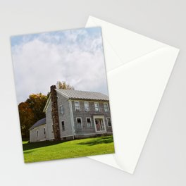 Stone House in Starksboro Stationery Cards
