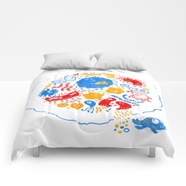 Primary soup Comforters