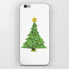 2015 Christmas Tree iPhone Skin
