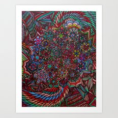Making Me Dizzy Art Print