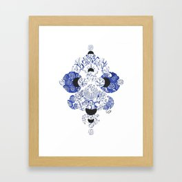 Pay Close Attention to the Present Framed Art Print