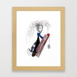 Fire Away! Framed Art Print