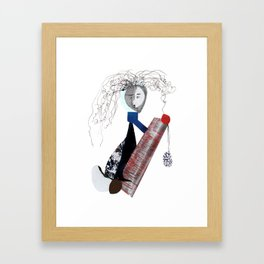 Fire Away! Framed Art Print