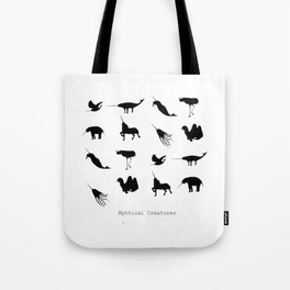 Typology of Mythical Creatures Tote Bag