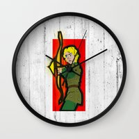 dungeons and dragons Wall Clocks featuring DUNGEONS & DRAGONS - HANK by Zorio