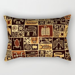 Desert Animals Rectangular Pillow