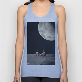 I Gave You the Moon for a Smile Unisex Tank Top