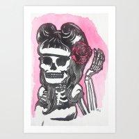 Suavecita Art Print
