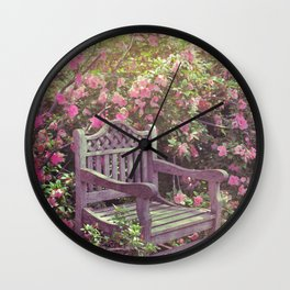 Save me a seat! Wall Clock