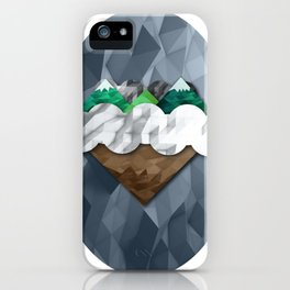 Floating Earth iPhone Case