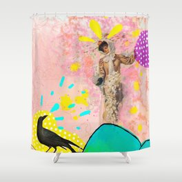 Death - Tarot Shower Curtain
