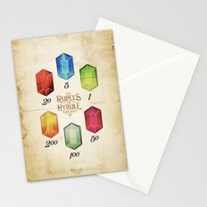 Legend of Zelda - The Rupees of Hyrule Kingdom Guide Stationery Cards
