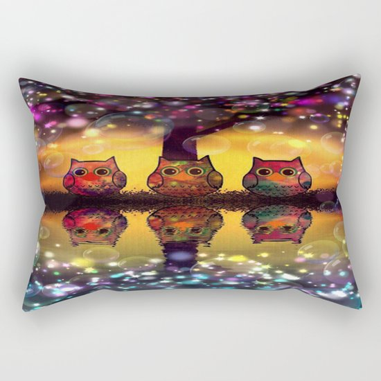 owl-110 Rectangular Pillow