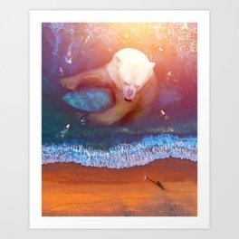 buoyant Art Print