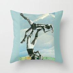 Sportrobatics Throw Pillow