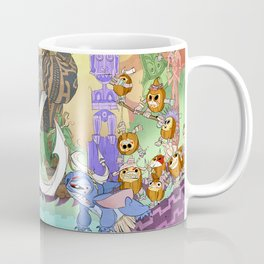 Tiki Hide & Seek Coffee Mug