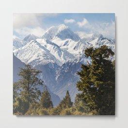 Mount Tasman Metal Print