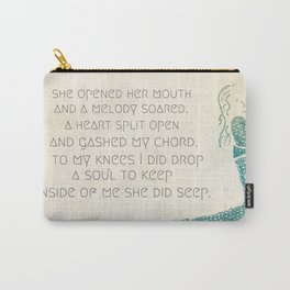 cord is spelled with an h Carry-All Pouch