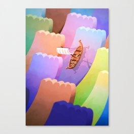 Geekings Canvas Print