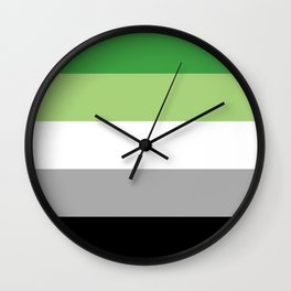 Aro Pride Wall Clock
