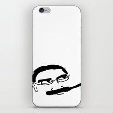 Groucho Marx Knit. iPhone & iPod Skin