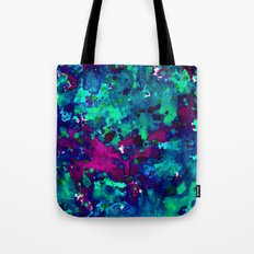 Midnight Oil Spill Tote Bag