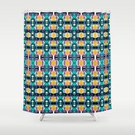 Kandy pattern Shower Curtain