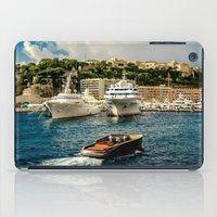 hercules iPad Cases featuring Cruising Port Hercules in Monaco by ExperienceTheFrenchRiviera