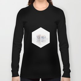 Snail Shells On Water Long Sleeve T-shirt