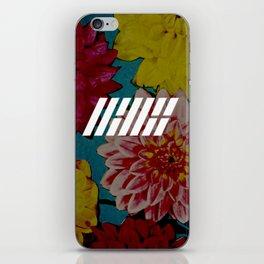 IKON floral iPhone Skin