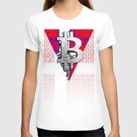 denmark T-shirts featuring bitcoin denmark by seb mcnulty