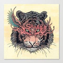Masked Tiger Canvas Print