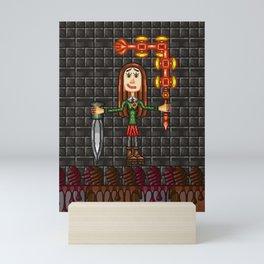 Irene Chinezu at 12 Years of Age Mini Art Print