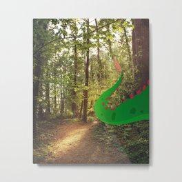 hide and seek with Elliot Metal Print
