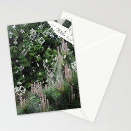 accepting life as it is: the forest Stationery Cards