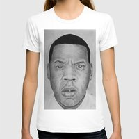 jay z T-shirts featuring Jay-z by pat langton