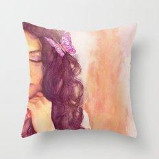 A part of me Throw Pillow