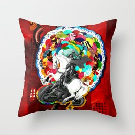 São Jorge (Saint George) Throw Pillow