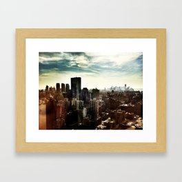 New York by iPhone 2 Framed Art Print