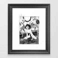 Crippled Framed Art Print