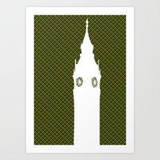 Architecture - Big ben Art Print