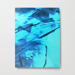 Blue Wind Metal Print