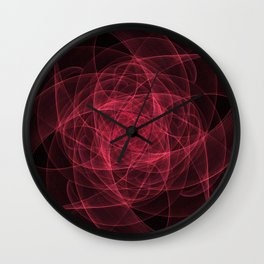 A study in pink 18 Wall Clock