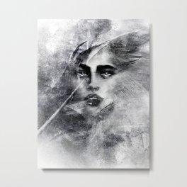 FOLIE. Metal Print