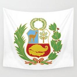 Peru Shield Wall Tapestry
