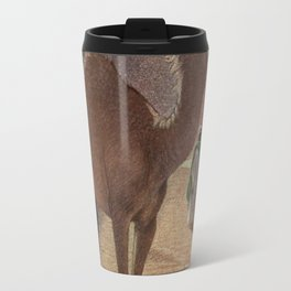 Vintage Camel Painting (1909) Travel Mug