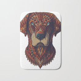 Labrador (Color Version) Bath Mat