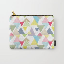 Alpine Adventure Triangles Carry-All Pouch