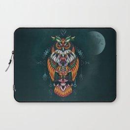Wisdom Of The Owl King Laptop Sleeve